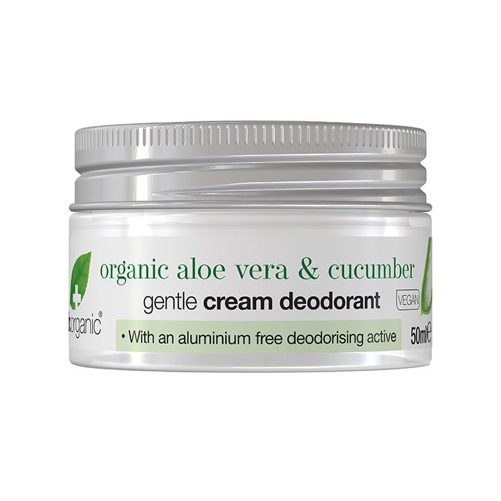 Dr Organic Cream Deodorant Aloe and Cucumber 50ml