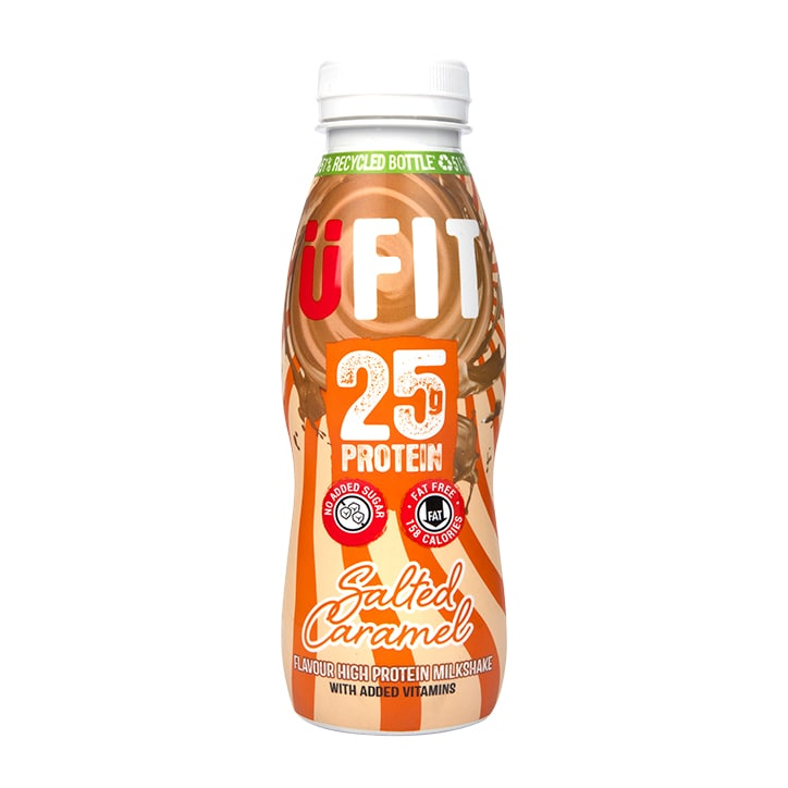 UFIT 25g High Protein Drink Salted Caramel 330ml