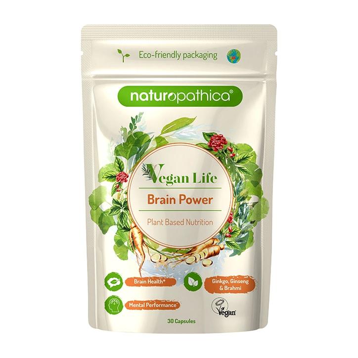 Naturopathica Vegan Life Brain Power 30 Capsules