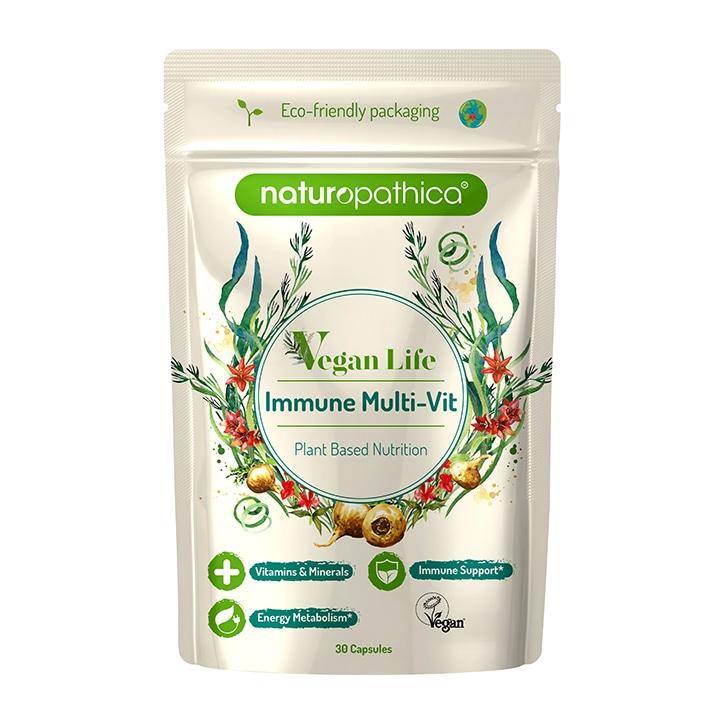 Naturopathica Vegan Life Daily Immune Multi Vitamin 30 Capsules