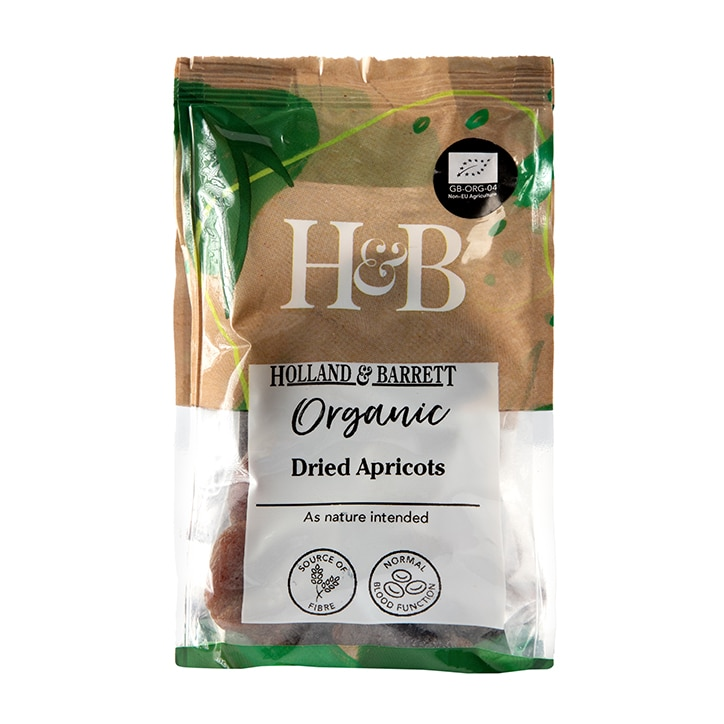 Holland & Barrett Organic Dried Apricots 200g