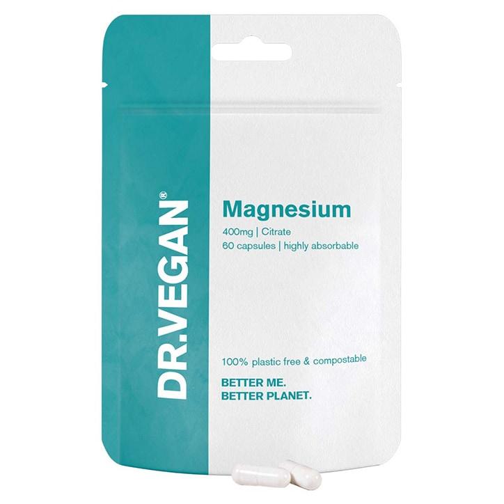 DR.VEGAN Magnesium 400mg 60 Capsules