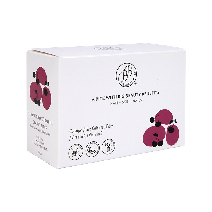 Krumbled Foods Beauty Bites Chocolate Cherry Coconut Flavour 7 x 32g