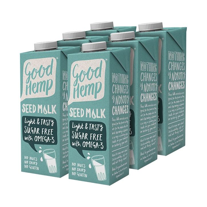 Good Hemp Seed Milk 6 x 1L