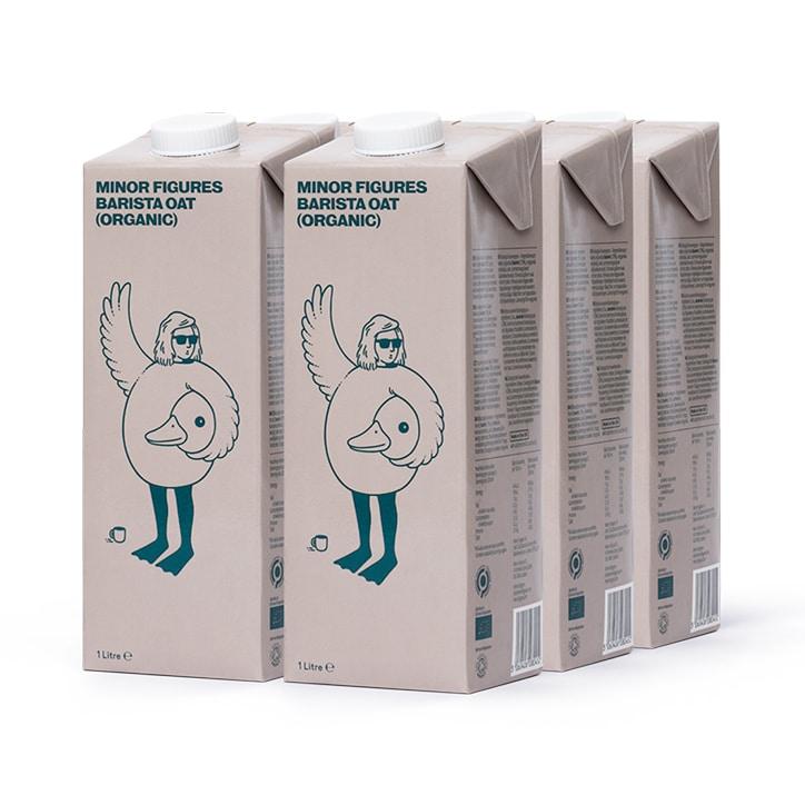 Minor Figures Barista Organic Oat Milk 6 x 1L