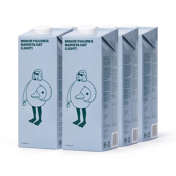 Minor Figures Barista Semi Oat Milk 6 x 1L