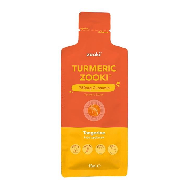 YourZooki Turmeric Zooki Micellar Curcumin 750mg Tangerine Flavour 15ml