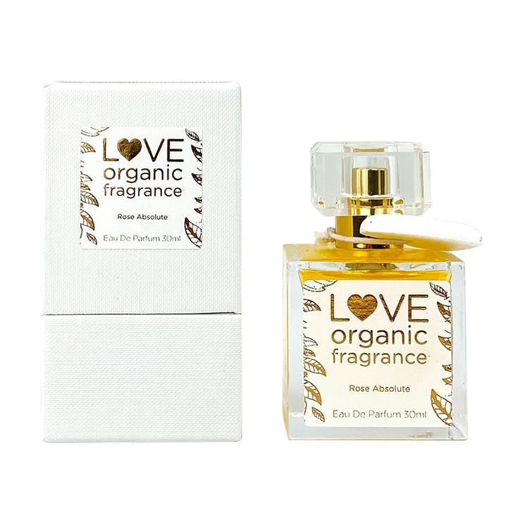 Love organic fragrance Rose Absolute Eau De Parfume 30ml