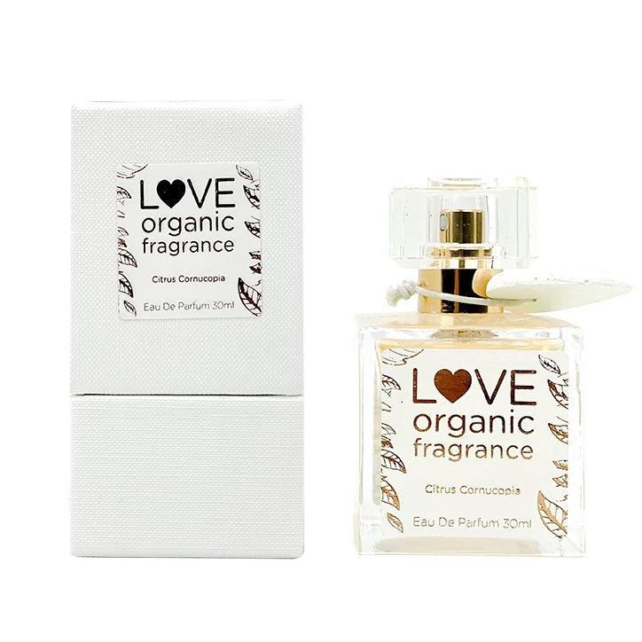 LOVE organic fragrance Citrus Cornucopia Eau De Parfum 30ml
