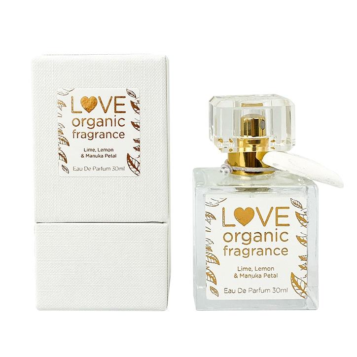 LOVE organic fragrance Lime, Lemon & Manuka Petal Eau De Parfum 30ml