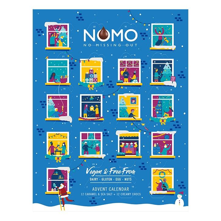 Nomo Choc Advent Calendar 96g