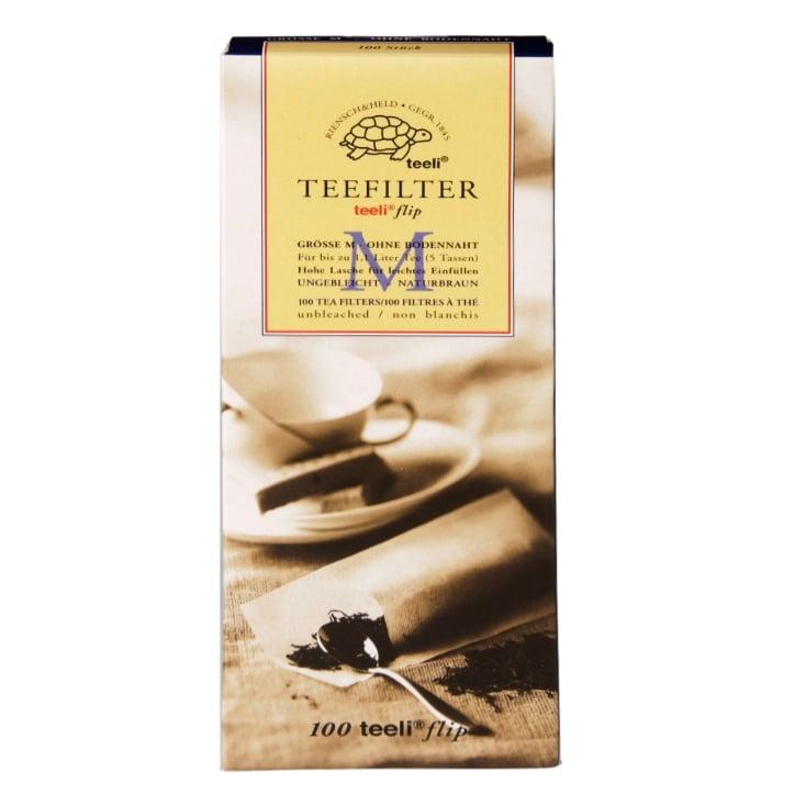 Teeli Tea Filters 100 Filters