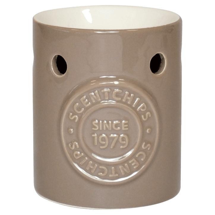 Scentchips Logo Burner Grey