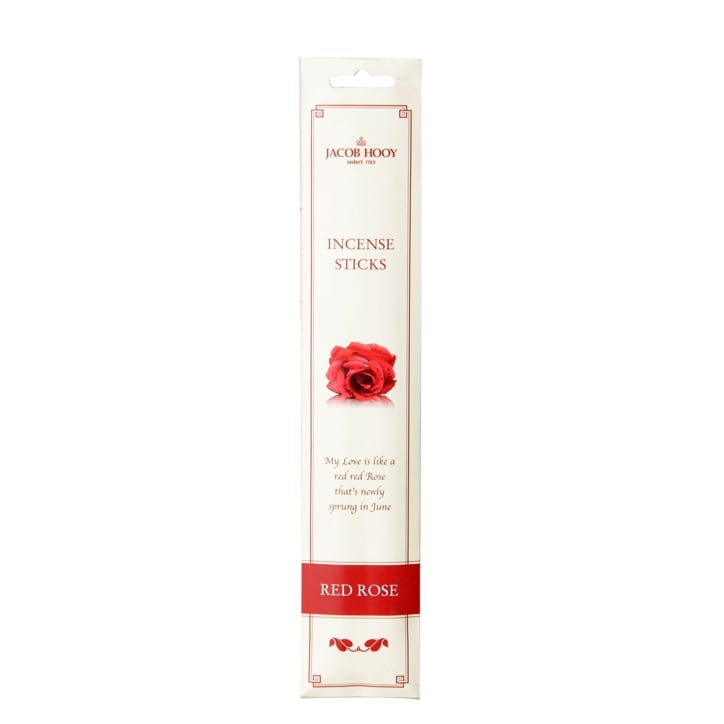 Jacob Hooy Incense Sticks Red Rose