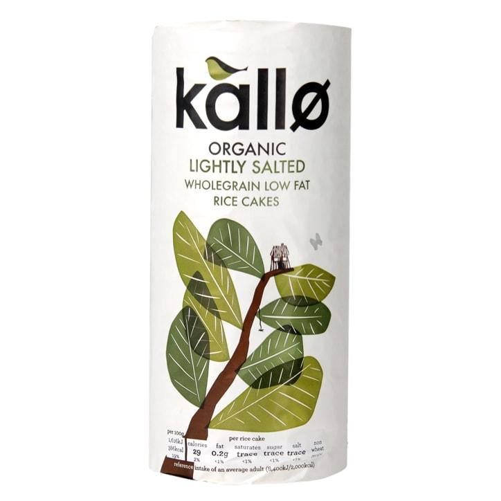 Kallo Sea Salt Rice Cakes 130g