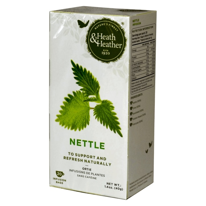 Heath & Heather Nettle Tea 20 Tea Bags