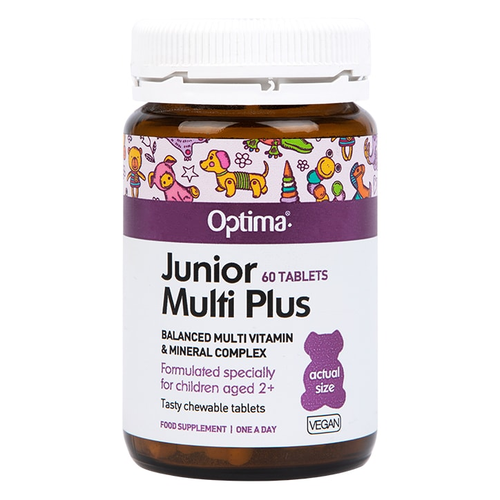 Optima Healthcare Junior Multi Plus Chewable 60 Tablets