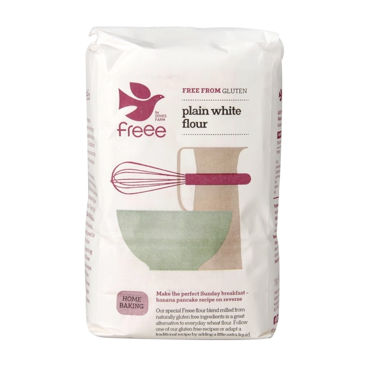 Doves Farm Gluten & Wheat Free Plain White Flour 1kg