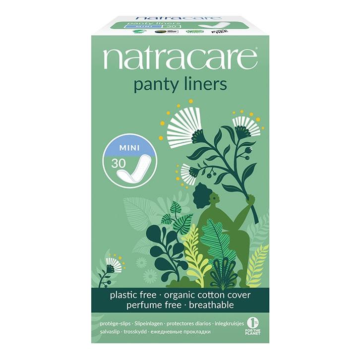 Natracare Natural Organic Panty Liners 30 Mini