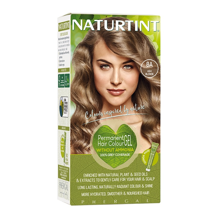 Naturtint Permanent Hair Colour 8A (Ash Blonde)