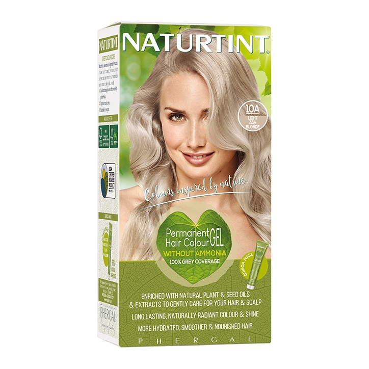 Naturtint Permanent Hair Colour 10A (Light Ash Blonde)