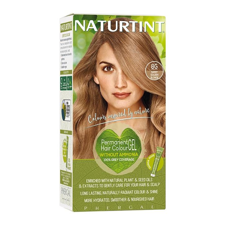 Naturtint Permanent Hair Colour 8G Sandy Golden Blonde