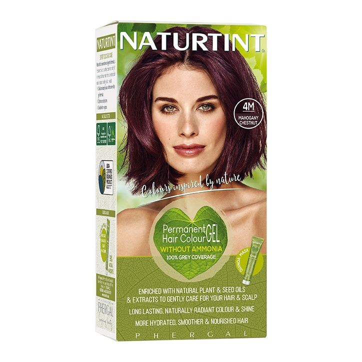 Naturtint Permanent Hair Colour 4M Mahogany Chestnut
