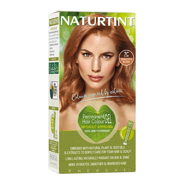 Naturtint Permanent Hair Colour 7C Terracotta Blonde