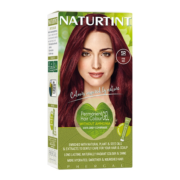 Naturtint Permanent Hair Colour 5R (Fire Red)