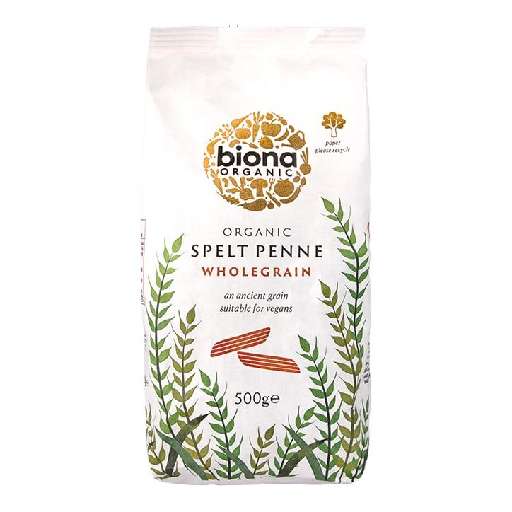 Biona Wholegrain Spelt Penne Pasta 500g
