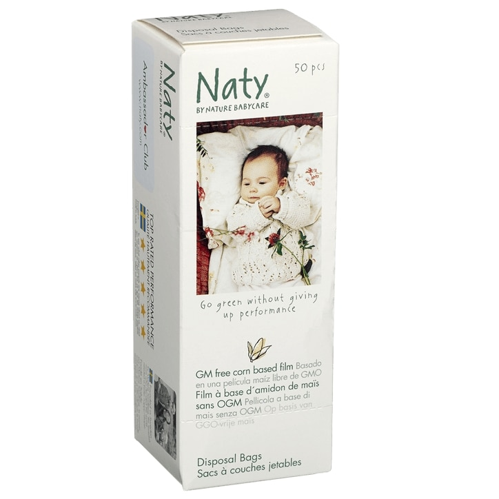 Naty By Nature Disposable 50 Bags