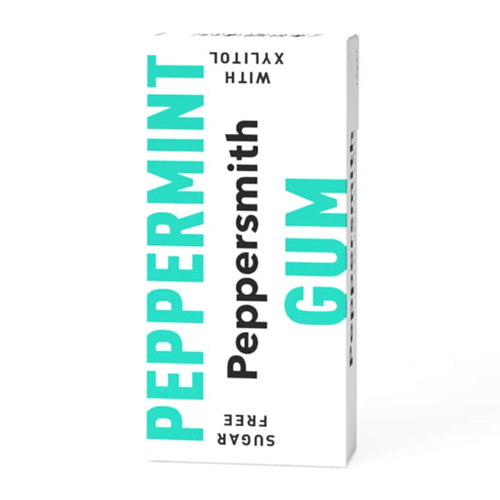 Peppersmith Fine English Peppermint Chewing Gum