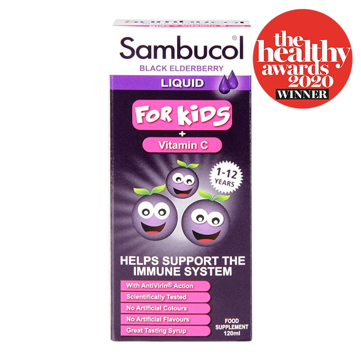 Sambucol Black Elderberry Liquid For Kids 120ml
