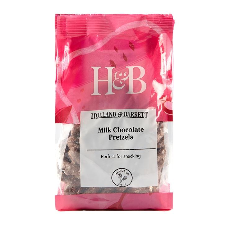 Holland & Barrett Milk Chocolate Pretzels 140g