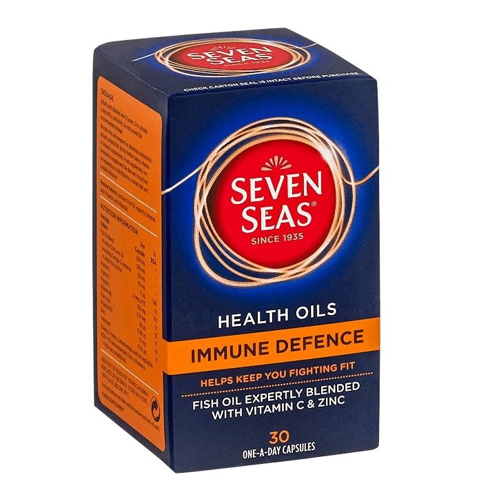 Seven Seas Immune Defence Capsules