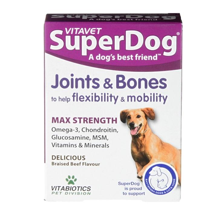 Vitavet Superdog Joint & Bones 30 Tablets
