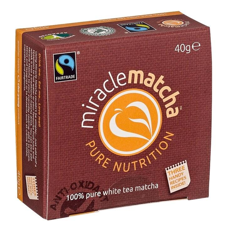 MiracleMatcha Pure White Tea Powder
