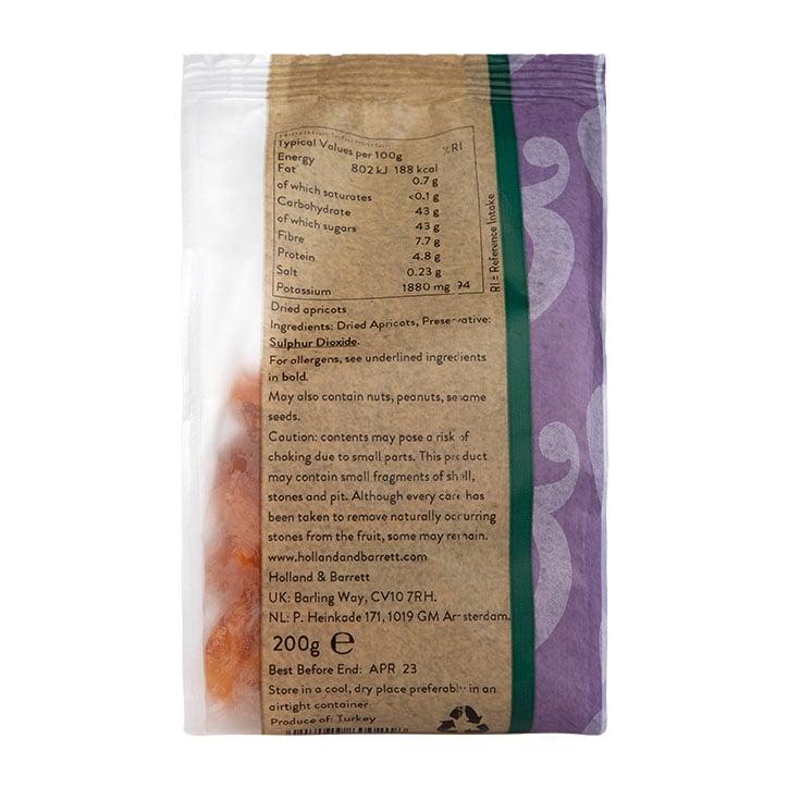 H B Dried Apricots Holland Barrett