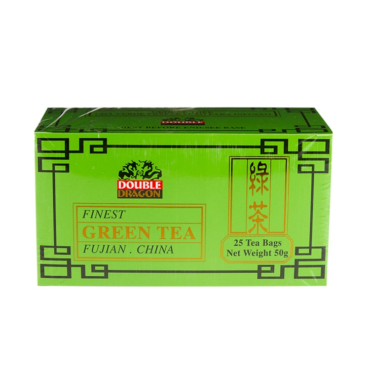 Double Dragon Green Tea 25 Tea Bags