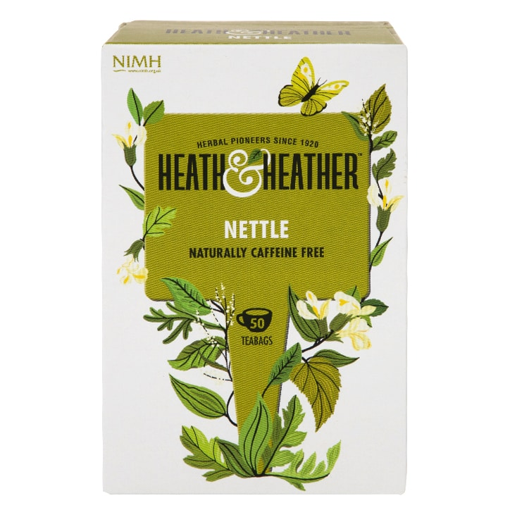 Heath & Heather Tea Nettle 50 Tea Bags