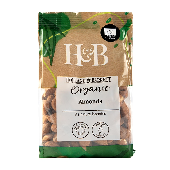Holland & Barrett Organic Almonds 250g