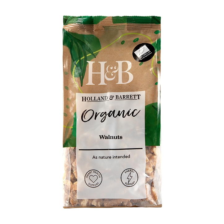 Holland & Barrett Organic Walnuts 250g