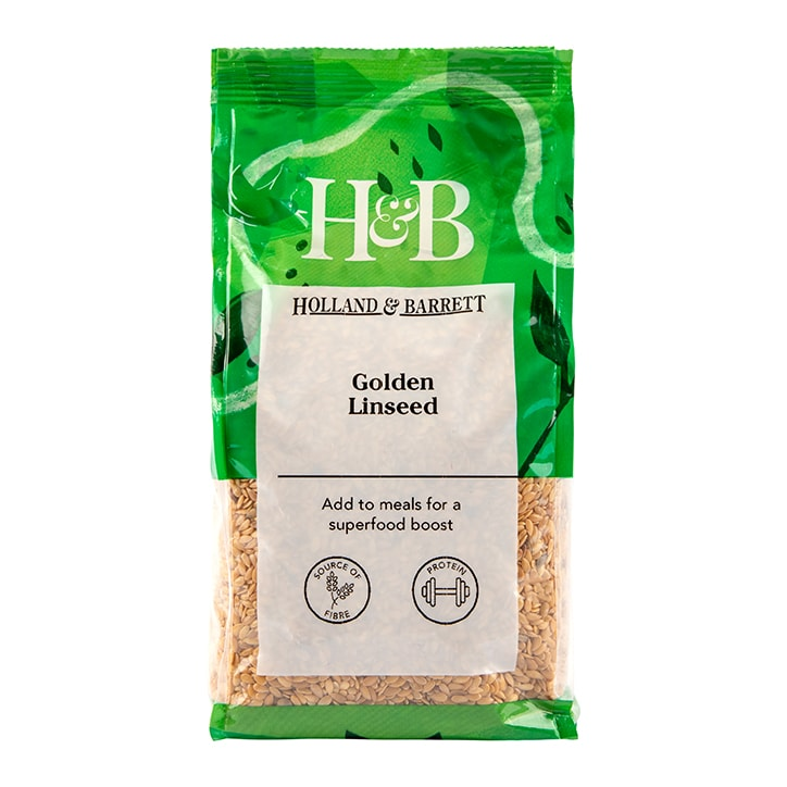 Holland & Barrett Golden Linseed 500g