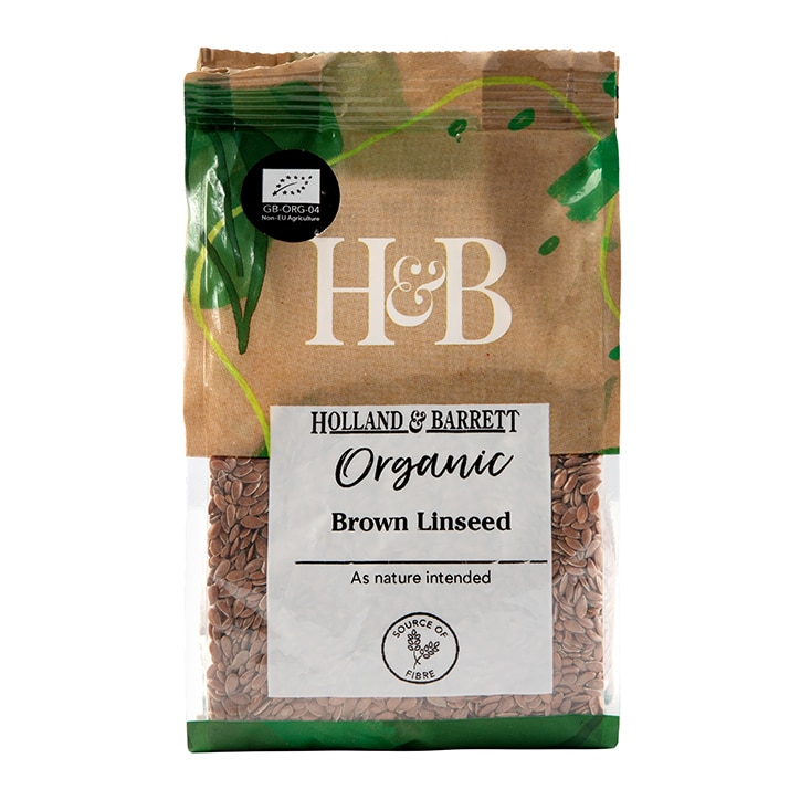 Holland & Barrett Organic Brown Linseed