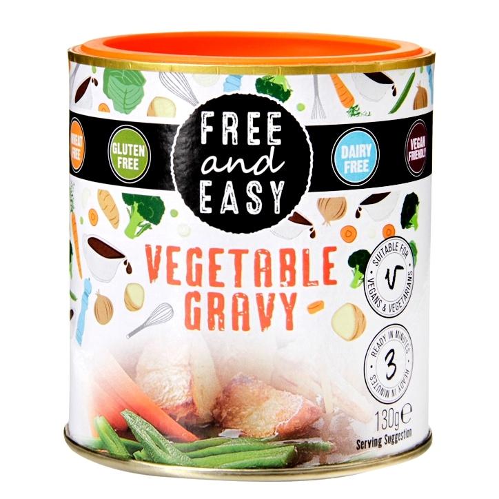 Free & Easy Vegetable Gravy Sauce Mix 130g