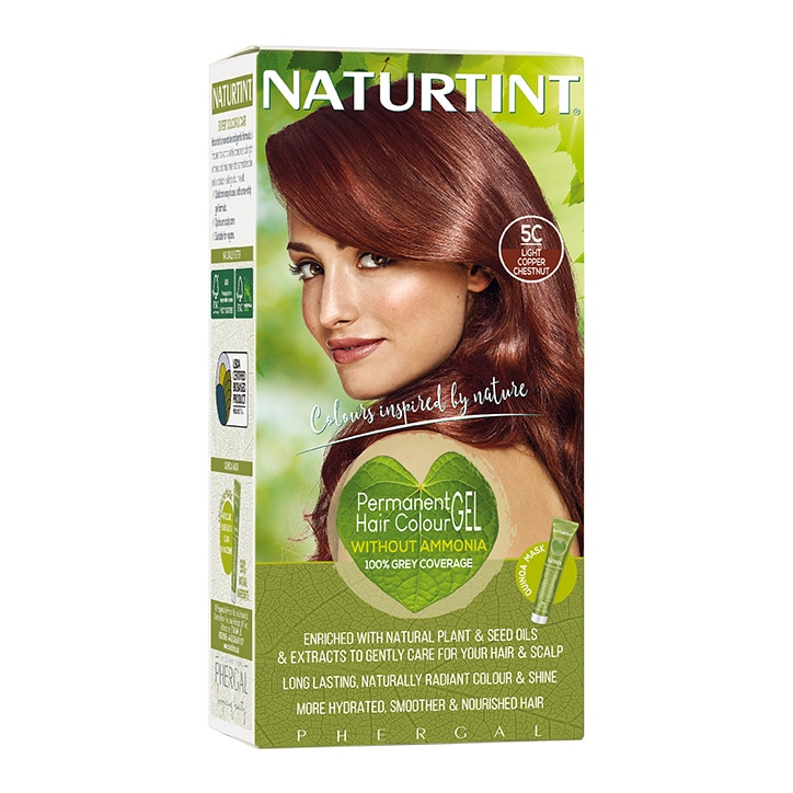 Naturtint Permanent Hair Colour 5C (Light Copper Chestnut)