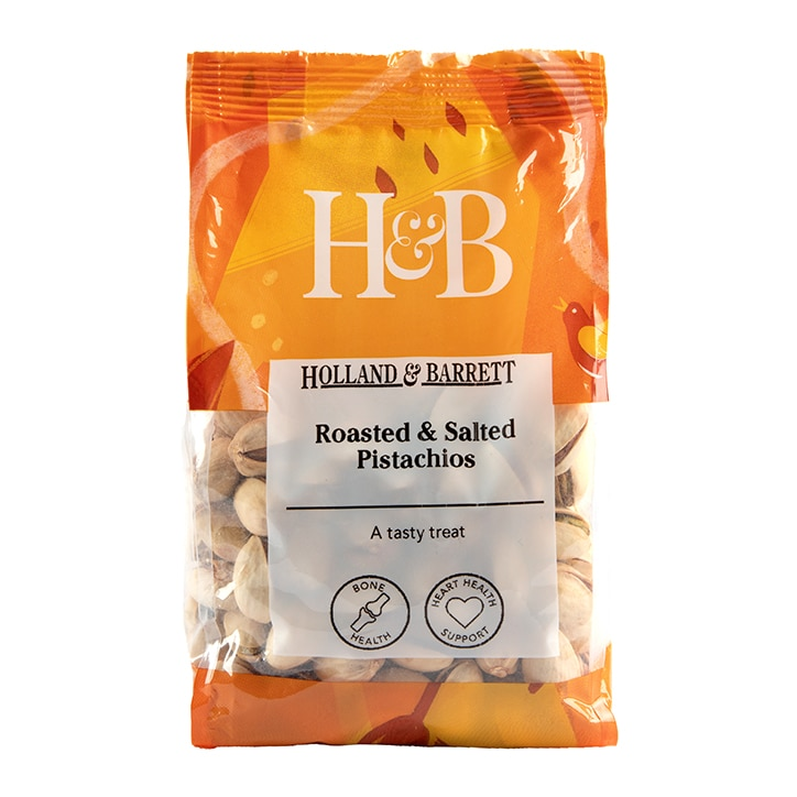 Holland & Barrett Roasted Salted Pistachios 200g