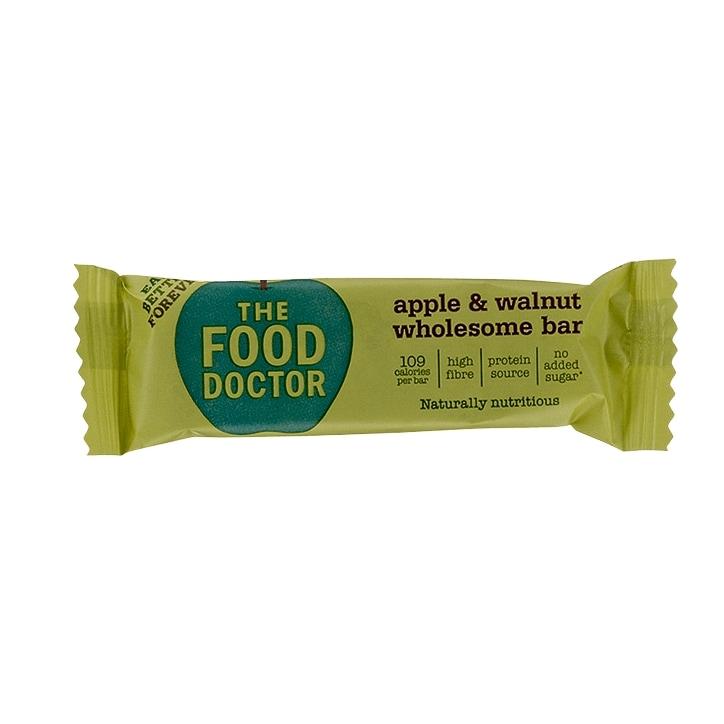 Food Doctor Apple and Walnut Food Bar