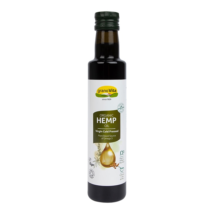 Granovita Organic Hemp Oil