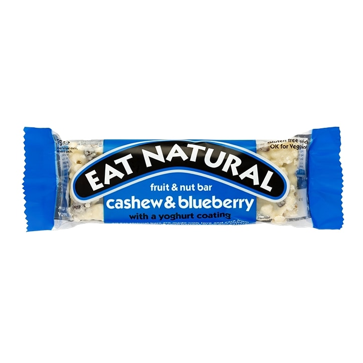 Eat Natural Cashew & Blueberry with a Yoghurt Coating